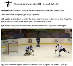 mantener tension - penalty hockey