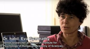 Eva Gyarmathy psychology hungarian academy sciences