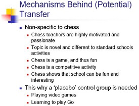mechanisms behind (potential) transfer - gobet