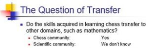 question of transfer - gobet